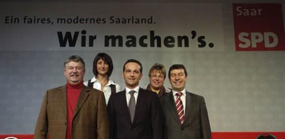 SPD Top 5 der Landesliste
